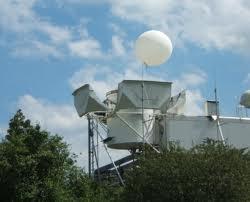 Foto der Wettermessung-Radiosonde