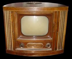 Foto eines alten Fernsehers