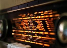 Foto eines alten Radios