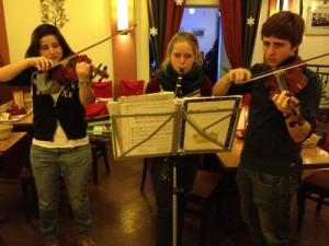 Foto der drei Musikanten