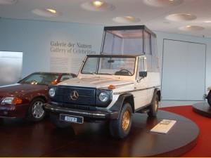 """Foto eines Auto für den Papst - Das """"Papamobil"""""""