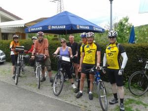 Foto der Pro-Retina Tandemtour-Gruppe