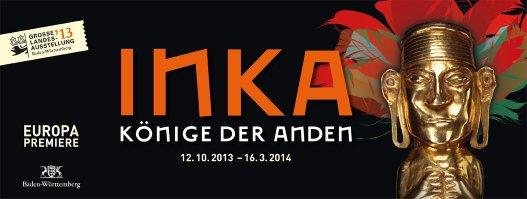 Plakat der Ausstellung INKA - Könige der Anden