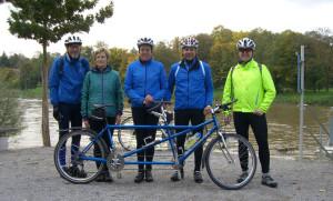 Foto der fünf Teilnehmer